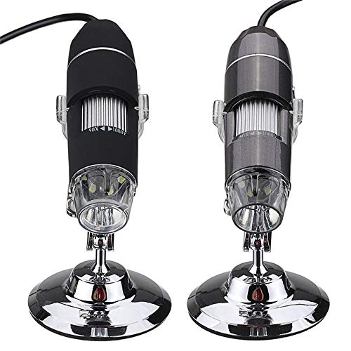 8 LED 0,3 m / 2m Pixel digitaler USB-Mikroskop-Lupe-Videokamera USB (Color : 2MP)