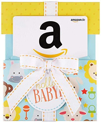 Amazon.de Geschenkkarte in Geschenkkuvert (Hallo Baby)