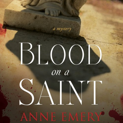 Blood on a Saint audiobook cover art