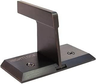 Nightlock Security Lock Patio Sliding Door Barricade Dark Bronze