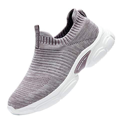 Damen Laufschuhe Fitness Turnschuhe, Mode Casual Platform Loafers Sneakers Dicke Unterschuhe Sneakers Sportschuhe LäSsige Damenschuhe Sportschuhe Flacher Shoes