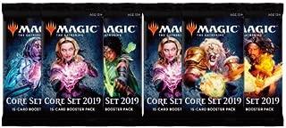 MTG 6 (Six) Packs - Magic: the Gathering Core Set 2019 Booster Packs (6 Pack - 2 Player Draft Lot)