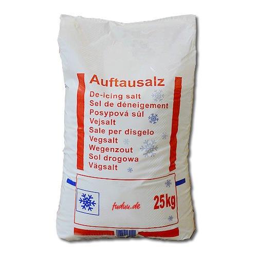 Sal de deshielo en saco de 25 kg