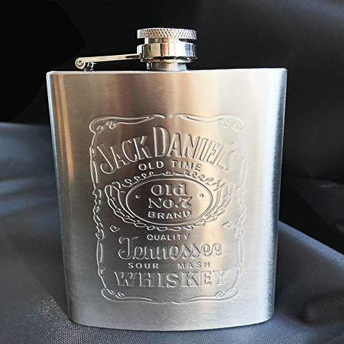 SMNHSRXH draagbare RVS heupfles reis whisky alcohol fles fles Flag Male Mini fles armband
