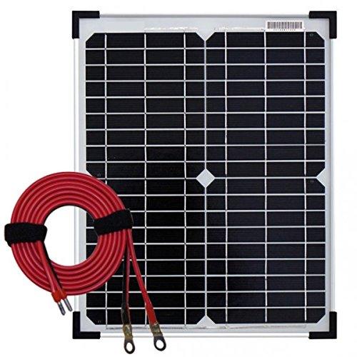Panneau solaire 20W monocristallin avec câble 2m50