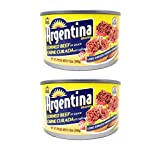 Argentina Corned Beef in Sauce (2 Pack, Total of 24oz)
