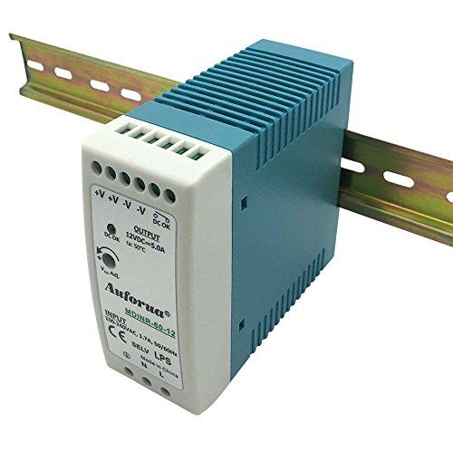 Hutschienen Netzteil 60W 15V 4A ; MeanWell HDR-60-15 ; DIN-Rail Trafo