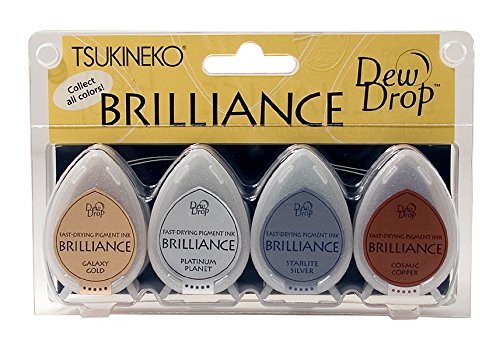 Brilliance Inks For Rubber Stamping Scrapbooking Card Making And Paper Crafts
