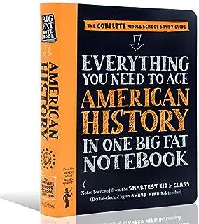 美国优秀中学生笔记美国历史 英文原版 进口中学生参考书 Everything You Need to Ace American History in One Big Fat Notebook