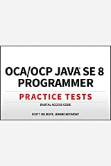 OCA / OCP Java SE 8 Programmer Practice Tests Digital Access Code Hardcover