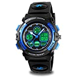 Watch Kids Boys for 5-9 Year Old, Kids Blue Digital Sports Waterproof Watch for Kids Birthday...