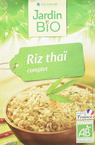 Jardin Bio Riz Thaï Complet 500 g - Lot de 3