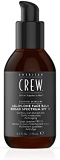 American Crew Shaving Skincare All In One Face Balm SPF15, 170 ml