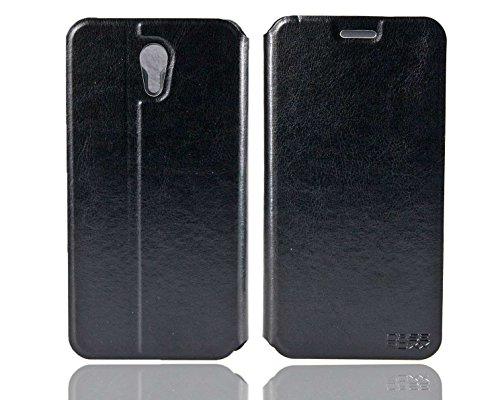 caseroxx Handy Hülle Tasche kompatibel mit Lenovo ZUK Z1 Bookstyle-Hülle Wallet Hülle in schwarz