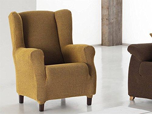 Eysa - Funda sillón Angelo Orejero 1 Plaza Color Amarillo C05
