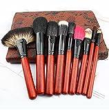 Conjunto de cepillos de Maquillaje 30pcs Cepillos de cosméticos, Maquillaje de Cepillo Foundation Powder Eyeliner para Regalos con Bolsa de Maquillaje