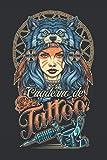 Cuaderno de Tattoo: para Tatuadores Profesionales y Estudiantes, para Dibujar, Esbozar y Grabar Ideas Creativas - Cuadernos de Tatuajes - Regalos para Tatuadores