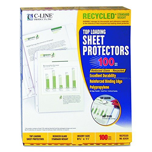 Archival Recycled Sheet Protector - 5