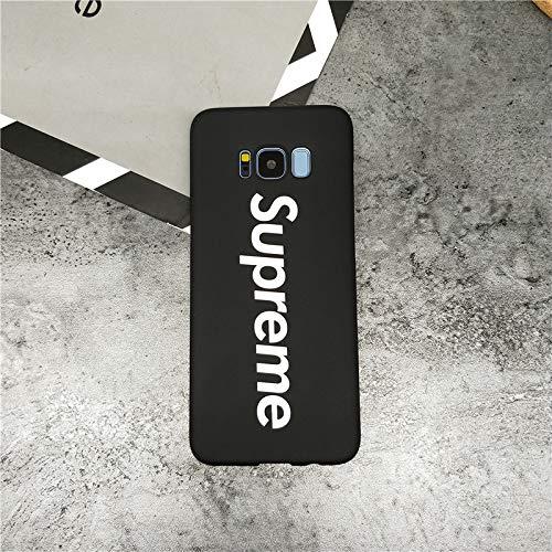 Megastore4 Supreme Kompatibel mit iPhone Samsung Galaxy S9 Handy Cover Samsung S9 Schutzhülle Handyhülle Sup Jordan Michael Jordan Chicago Bulls (schwarz)