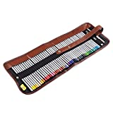 Marco Raffine fine 48arte lápices + borrador + Extensor de lápiz herramientas de pintura con rollo de bolsa de lienzo para colorear libros dibujo escritura dibujo diseños