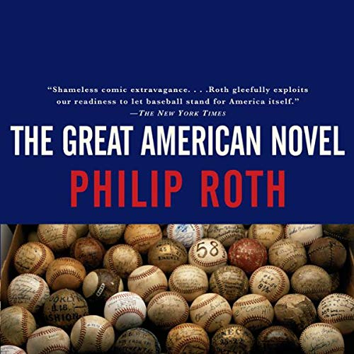 The Great American Novel audiobook cover art
