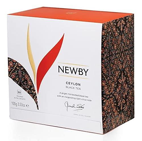 Newby Teas London - Classic Tea Bag Collection Ceylon - 50 bolsitas individuales