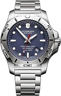 Victorinox - INOX Reloj para Hombre Analógico de Cuarzo con Brazalete de Acero Inoxidable V241782