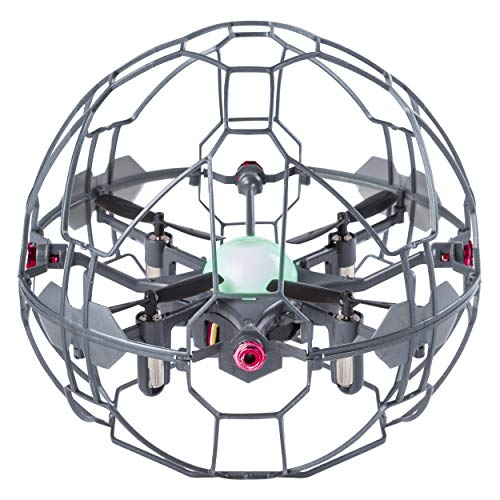 Air Hogs - Supernova Gravity Defying Hand-Controlled Flying Orb, for Ages 8 and Up, Stainless Steel