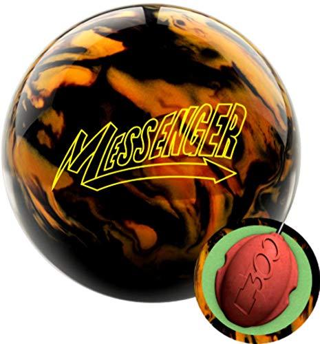 Columbia 300 Messenger Black/Gold Bowling Ball (16)