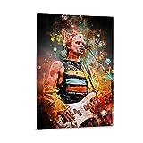 Poster, Motiv: Sting Police der 80er Jahre Gitarristen,
