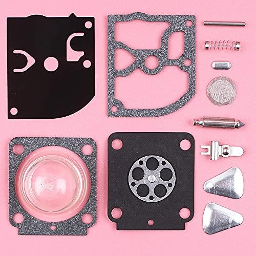 SYCEZHIJIA Kit de reconstrucción de reparación de carburador para Stihl HS45 FS55 FS38 BG45 MM55 Mini Recortadora de timón Pieza de Repuesto Zama RB-100 RB 100