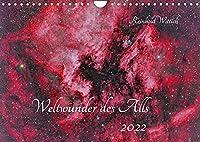 Weltwunder des Alls (Wandkalender 2022 DIN A4 quer): Wunderbare Ansichten des Weltalls (Monatskalender, 14 Seiten )
