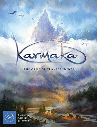 Karmaka: The Game of Transcendence (Tactical Card Game About Reincarnation for 2–4 Players, A Competitive Card Game of Strategy & Karmic Cycles)