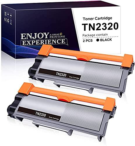 Zambrero Compatibile Toner TN2320 Sostituzione per Brother TN2320 TN2310 Toner per Brother MFC-L2700DW MFC-L2700DN MFC-L2720DW MFC-L2740DW HL-L2300D HL-L2340DW DCP-L2500D DCP-L2520DW (2 Nero)