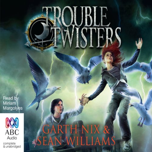 Troubletwisters: Book 1 audiobook cover art