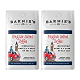 Barnie's Coffee English Salted Toffee Ground Coffee, Medium Roast, Sugar Free, Gluten Free, Arabica Beans, 2-Pack