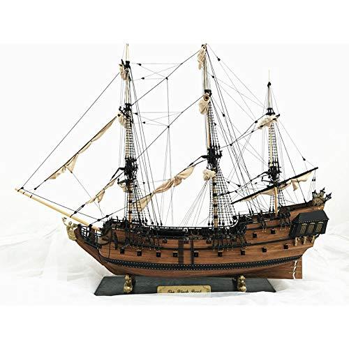 M & A Juego de maquetas de barco para construcción de adultos, hecho a mano, escala 1: 32, barco velero de madera, kit de montaje, decoración para niños y adultos de 32 pulgadas.