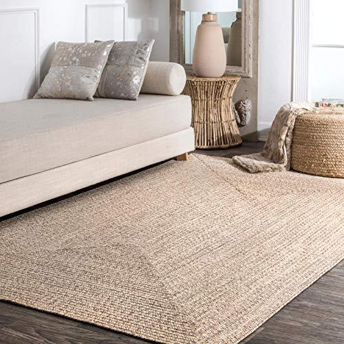 nuLOOM Wynn Braided Indoor/Outdoor Accent Rug, 2' x 3', Tan