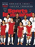 "PosterWarehouse2017 Tobin Heath Featured ON SI's Huge 2019 13""x17"" World Cup Cover Poster"