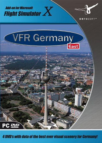 Flight Simulator X - VFR Germany 4: East (Add-On) [UK Import]