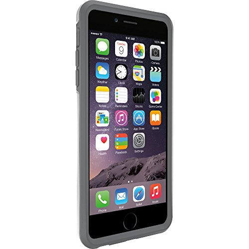 """OtterBox SYMMETRY SERIES Case for iPhone 6 Plus/6s Plus ONLY (5.5"""" Version) - Retail Packaging - GLACIER (WHITE/GUNMETAL GREY)"""