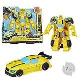 TRANSFORMERS Cyberverse - Robot action Bumblebee voiture 20cm - Jouet transformable 2 en 1