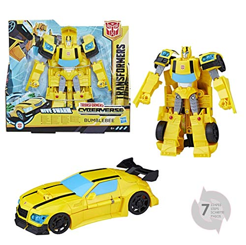 Hasbro Transformers E1907ES0 - Cyberverse Action Attackers Ultra Figur Bumblebee Roboter-Actionfigur