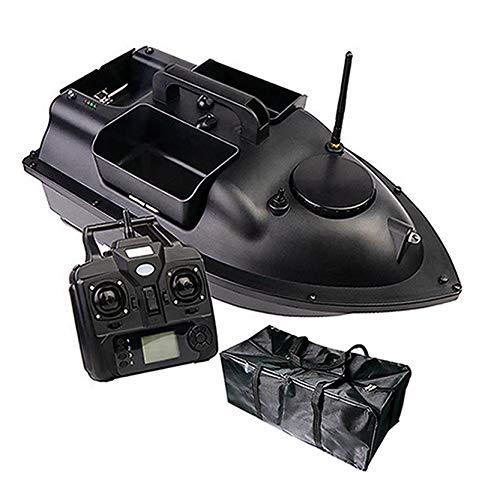 DINGYU RC Fishing Köder Boot GPS Positionierung Automatische Rückgabe Dual Motor-Fernbedienung 500 Meter Angeln Fernbedienungsboot,12000Mah