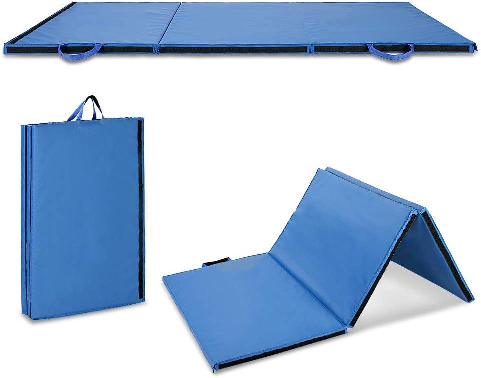送料0円 Gymnastics Mat Portable Thick Tumbling Exercise 全店販売中 Gym
