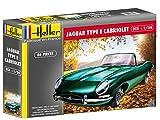 Heller - 80719 - Jaguar Type E 3,8l Ots Cabriolet - 86 Pièces - Echelle 1/24