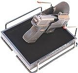 Armory Racks 4 Gun Store, Secure & Carry Handgun Pistol Rack with Tray