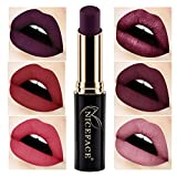 2018 Labiales Mate Larga Duracion Pintalabios Permanente de Maquillaje Profesional 24 Colores para...