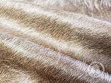 Sunshine Cowhides Teppich aus Kuhfell, Farbe: Taupe, Größe 220 x 200 cm, Premium - Qualität von Pieles del Sol aus Spanien - 4
