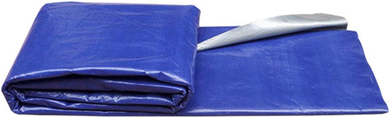 LLRDIAN Blaues silbernes Tuchzelt-Tuchschattenstoff Blaues graues Tuch Regenschutzwasserdichter regendichter Blauer Plastikstoff B07J6PG53Z  Sehr gute Qualität